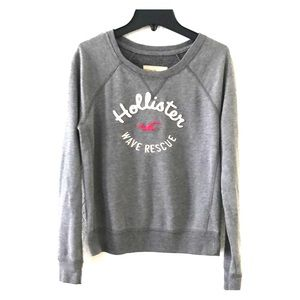 Hollister crew neck juniors small sweatshirt
